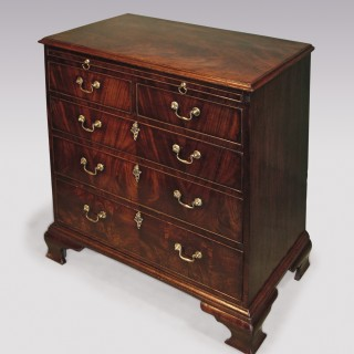 An Antique 18th Century mahogany straight front Chest.