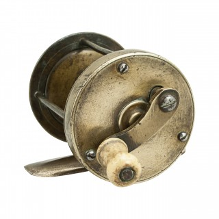 Brass Multiplier Fishing Winch
