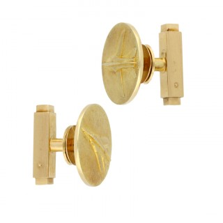 Cartier Mirage G8 cufflinks, circa 1968.