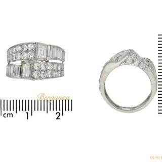 Art Deco diamond cocktail ring, circa 1930.