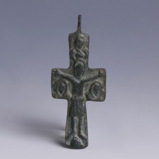Rare Byzantine Bronze Cross