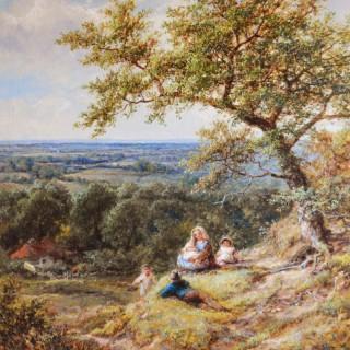 Resting near Arundel, Sussex