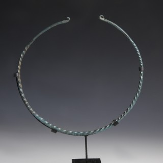 Large Bronze Age Torc