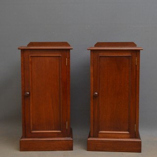 Pair of Victorian Bedside Cabinets