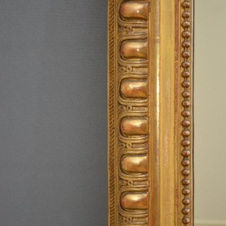 Full length French Giltwood Mirror