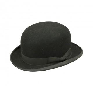 Black Bowler Riding Hat