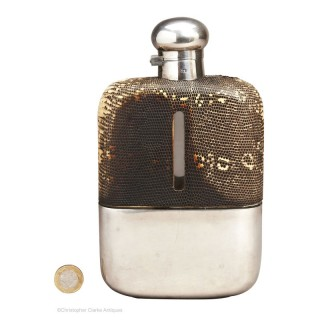 Large Dixon & Son Flask
