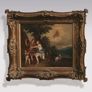 Early 18th Century oil Painting from the School of Jan van Neck (1635-1714)
