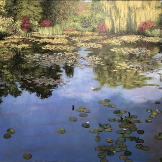 Reflections at Giverney