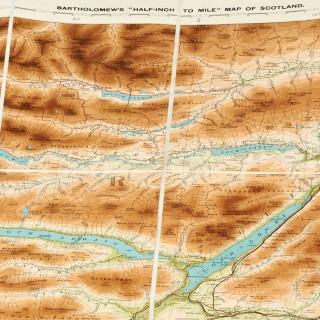 Set of Scotland Motoring Maps