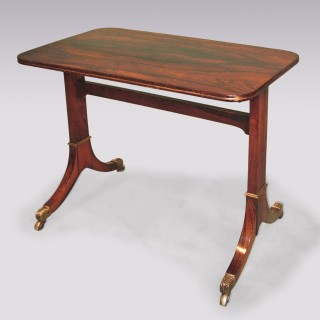 Antique Regency period rosewood Side Table.