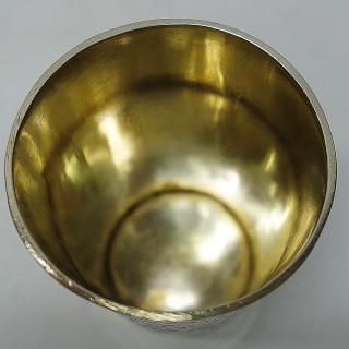 Antique German Silver Beaker
