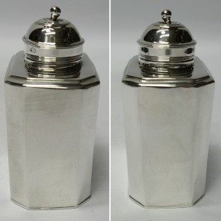 George III Silver Tea Caddy
