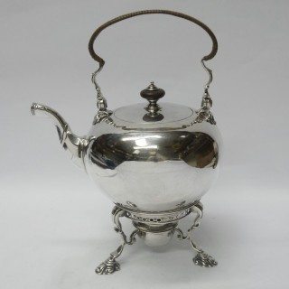 George II Silver Tea Kettle