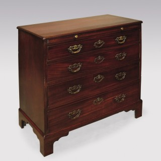 A George III period mahogany straight front Chest.