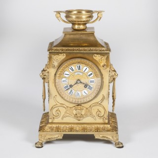 MANTEL CLOCK BY LAVASSORT OF PARIS