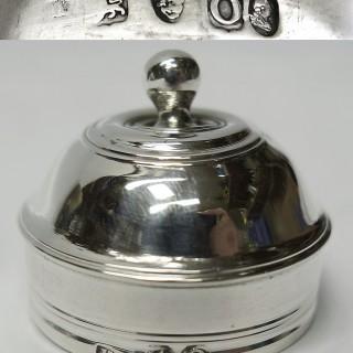 George III Silver Tea Caddy