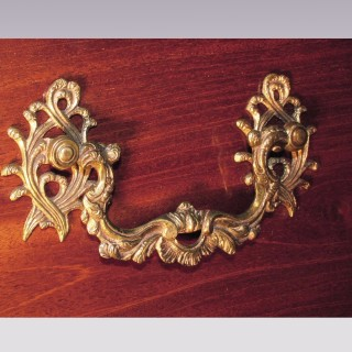A fine quality mid 18th Century well-figured mahogany Tallboy.