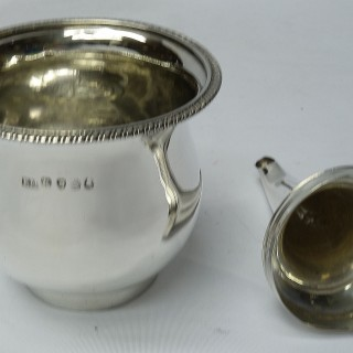 Antique Silver Wine Funnel