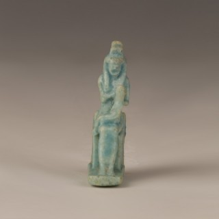 Egyptian Isis and Horus Amulet