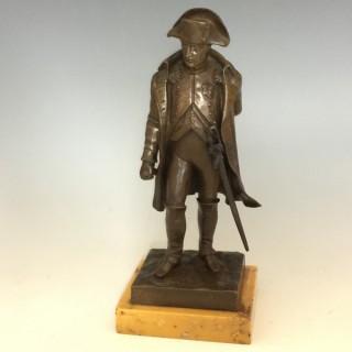 Bronze Figure of Napoleon Bonaparte by Vincent Riviere