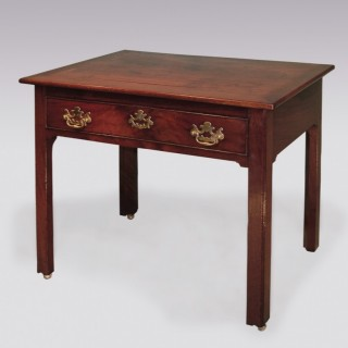 Antique mid 18th Century mahogany Architects Table.