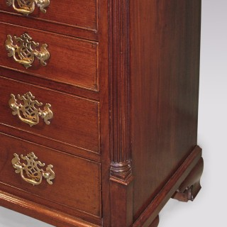 Antique mid 18th Century George III period mahogany Chest.