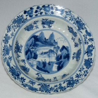 kangxi Blue and White Deep dish