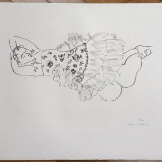 Danseuse Endormie