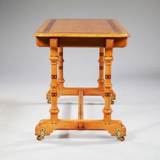 ARTS AND CRAFTS WRITING TABLE BY MARSH AND JONES