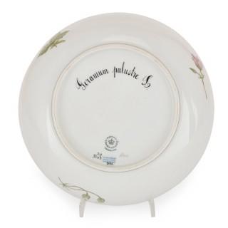 Antique 'Flora Danica' porcelain dinner service, by Royal Copenhagen