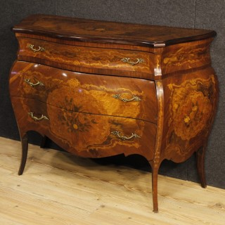 Italian Inlaid Dresser In Louis XV Style From 20th Century