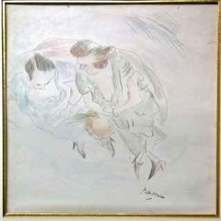 Jules Pascin - Two ladies