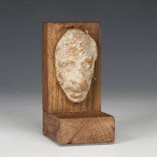 Roman Alexandrian Terracotta Head of a Grotesque