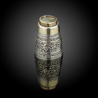Rare Silver and parcel gilt Thimble (Germany, 1609 BC)