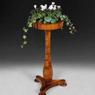 Rare Regency Rosewood planter table