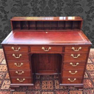 Antique Gillows Mahogany Knee-Hole Architects Desk
