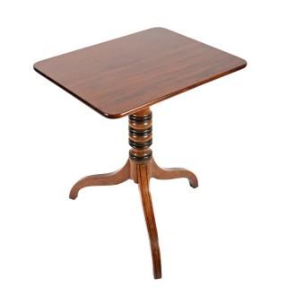 Regency Mahogany Tip Top Table