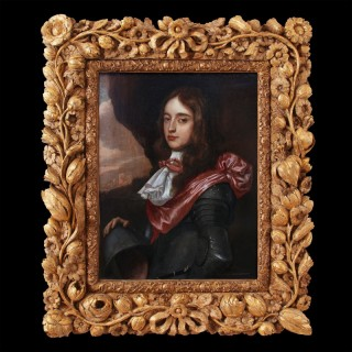 PORTRAIT OF A YOUNG NOBLEMAN POSSIBLY PRINCE WILLIAM III OF ORANGE
