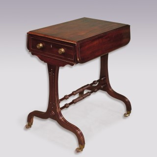 Antique Regency period mahogany Side Table.