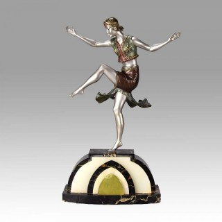 Henri Fugère Art Deco Dancer