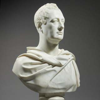Portrait Bust of an English Nobleman