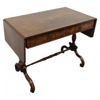Early Georgian Style Walnut Sofa Table