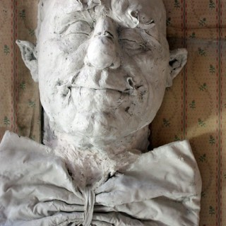 Beth Carter; 'Big Old Clown Mask'; Jesmonite & Plaster; Unique