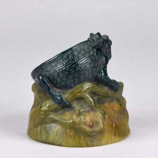Pate-de-Varre glass 'Chameleon' by Amalric Walter