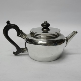 Antique Silver Saffron Teapot