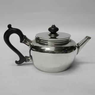 Antique Silver Saffron Teapot