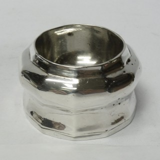 Queen Anne Silver Trencher Salts