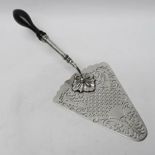 Antique Silver Serving Slice