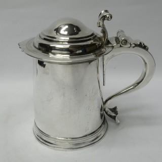 Antique Queen Anne Silver Tankard